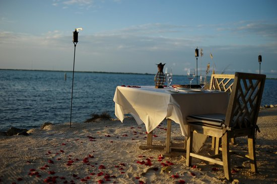 Little Palm Island Resort & Spa, A Noble House Resort : Private diner