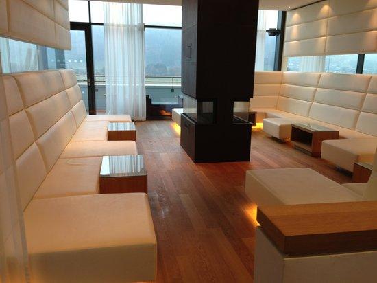 TAUERN SPA Kaprun: Spa Lounge