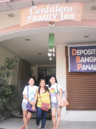 Cordillera Family Inn: with my BFF
