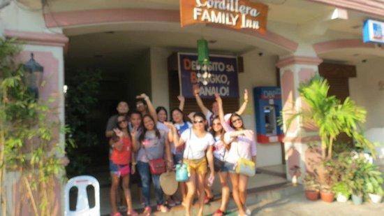 Cordillera Family Inn: with my friends