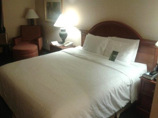 Hilton Garden Inn Plymouth: Bed