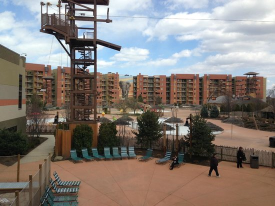 Kalahari Resorts & Conventions: View out a window
