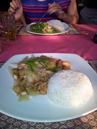 The Villa Siem Reap: The food I ate here was very nice (slighly overpriced!). They will make whatever you ask!