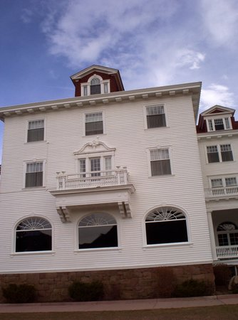 Stanley Hotel: This photo shows room 217 (with the balcony) where Stephen King got his inspiration for his book