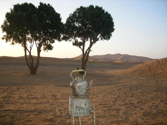 La Baraka: vue depuis la porte