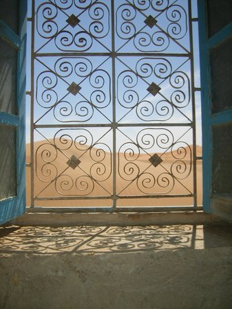La Baraka: vue de la chambre