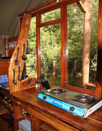 Teniqua Treetops: Tree House Kitchen