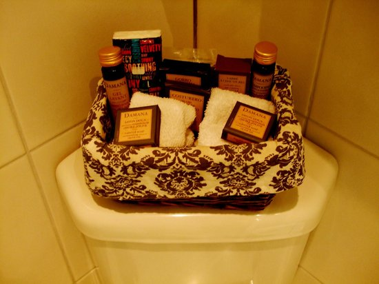 The Fisherbeck: The complimentary toiletries.