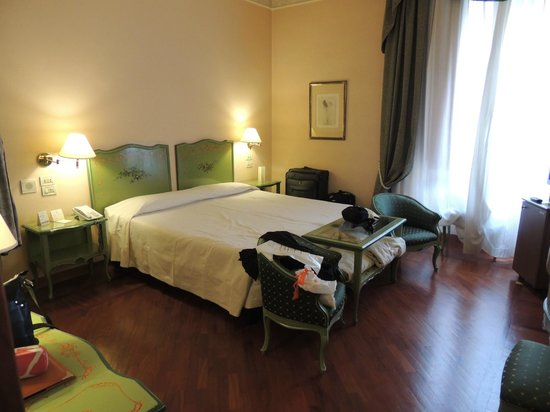 Pierre Hotel Florence: Double room