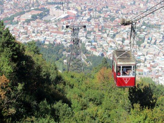Bursa Teleferik : Bursa city view from the Telefrik