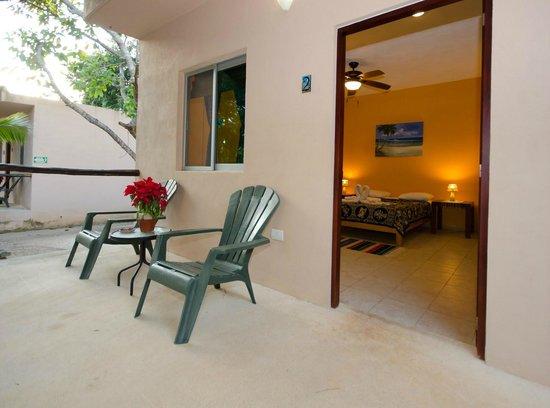Villa Tortugas Residence: Patio