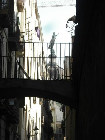 Dreaming Barcelona By Lidia Santiago: Virgin of Mercy Statue our saint patron