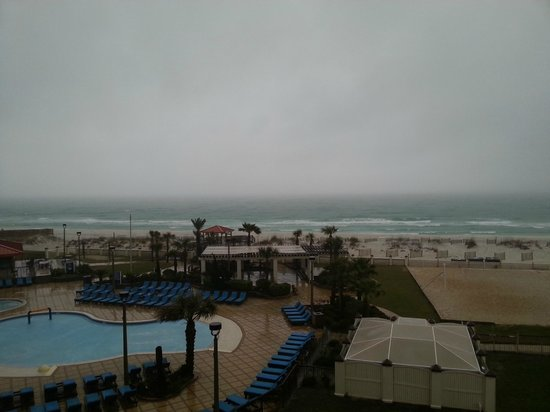 Hilton Pensacola Beach: Vista do quarto