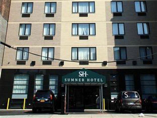 Sumner Hotel: Fachada del hotel