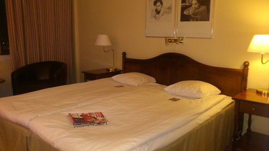 Clarion Hotel Gillet: The double bed