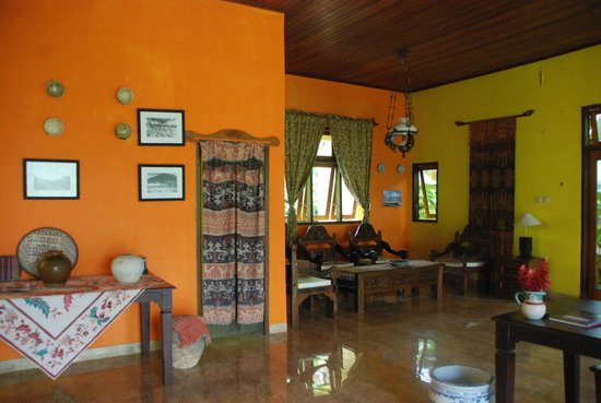Villa Ma'rasai: ontvangst ruimte