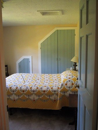 The Red Hat Bed & Breakfast: It's a peek-a-boo closet next to the big one.