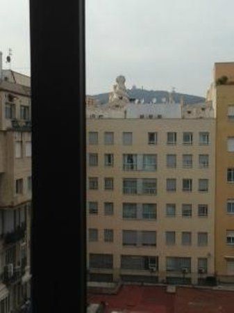 Alma Barcelona: view from 6th floor room