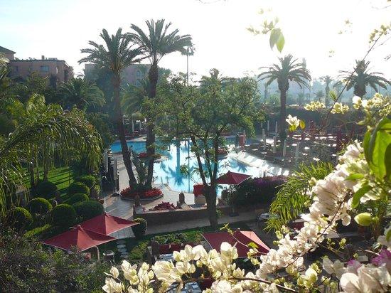 Foto de sofitel marrakech lounge and spa marrakech hall - Piscine sofitel marrakech ...