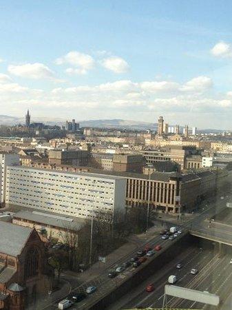 โรงแรมฮิลตัน กลาสโกว์: view from 18th floor