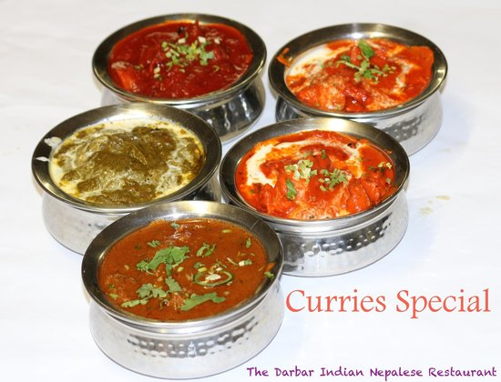 The Darbar Indian Nepalese Restaurant: Curries