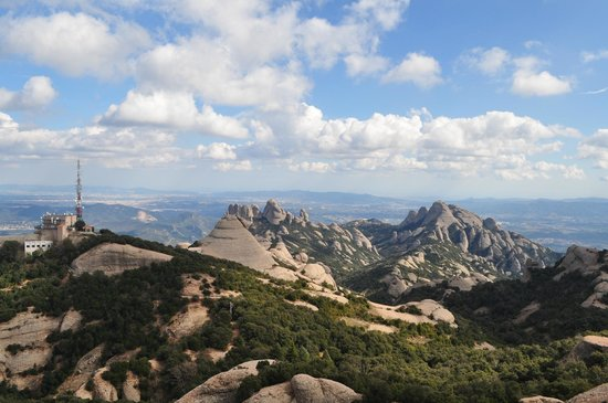 Sant Jeroni: View at the top