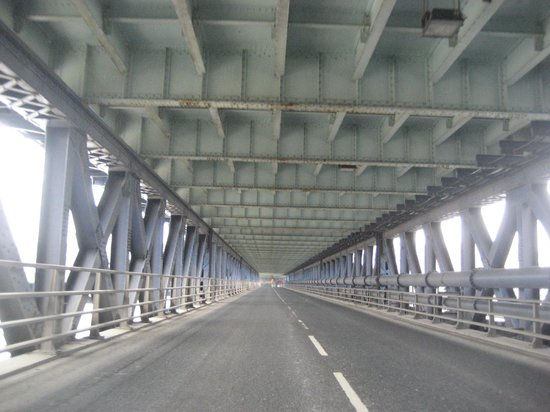 Craigavon Bridge: Lower Deck towards Bogside