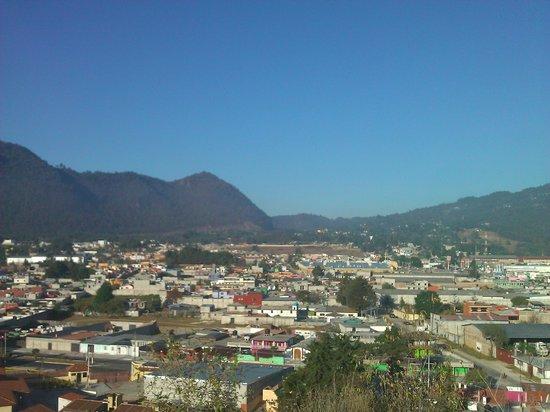 Fiesta Inn San Cristobal de las Casas: Vista desde el Fiesta Inn San Cristobal