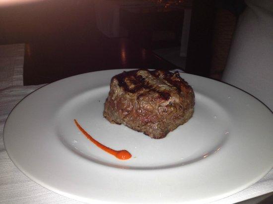 Tango Restaurant: Chargrilled Fillet Steak