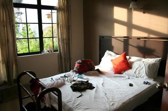 Sevana City Hotel: Fan room with balcony + hot water