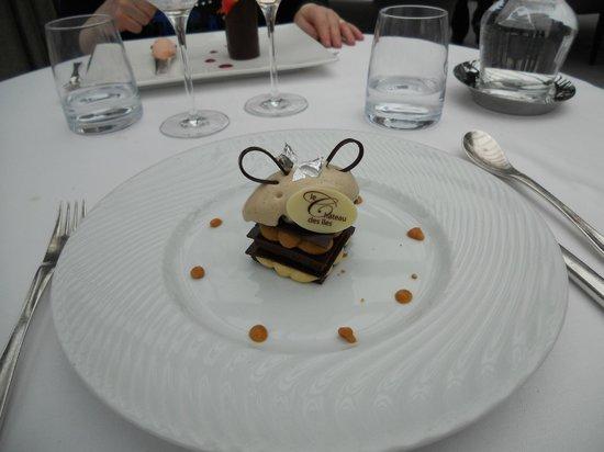 Le Chateau des Iles: Chocolat café noisette