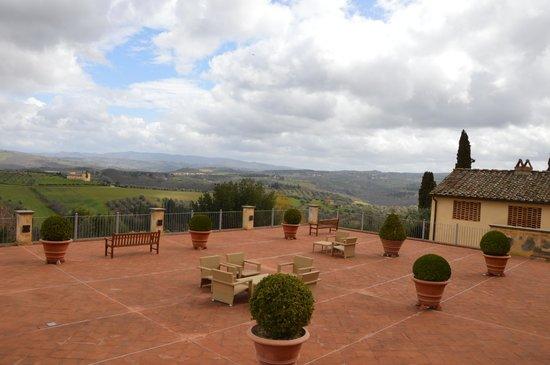 Castello del Nero Hotel & Spa: spazi sterni