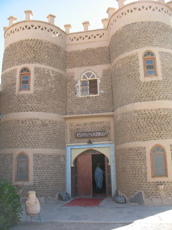 Hotel Ksar Merzouga: l'entrée