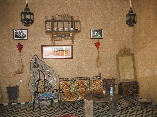 Hotel Ksar Merzouga : l'entrée de l'hotel