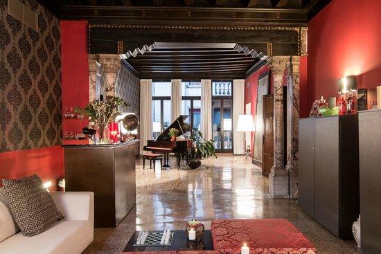 Corte Di Gabriela: lounge area