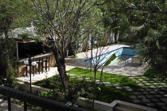 Vanilla Hotel: Garten