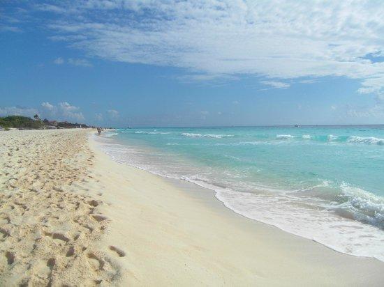 Sandos Playacar Beach Resort: spiaggia