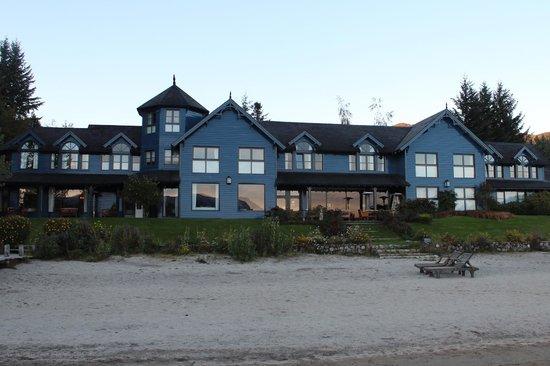 Las Balsas: El hotel desde la playa