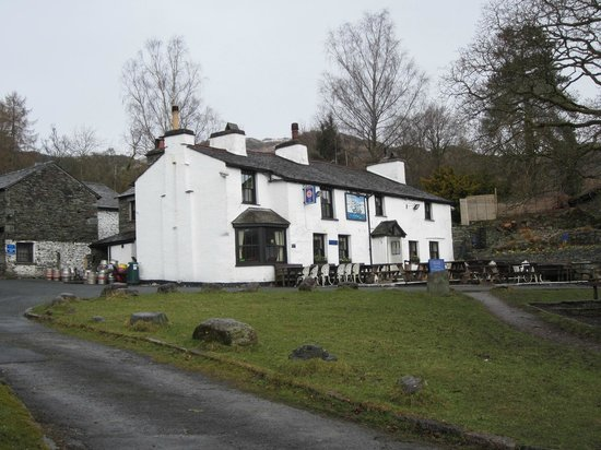 The Britannia Inn: On a cold afternoon in March