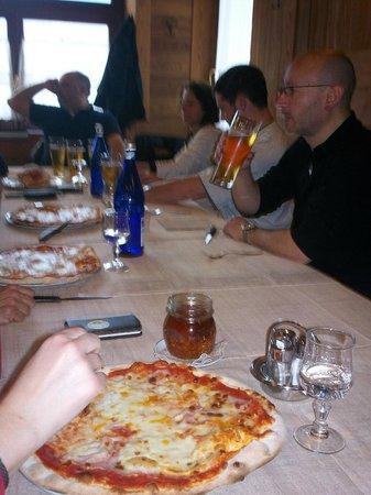 Rugantino: Pizza Valdostana