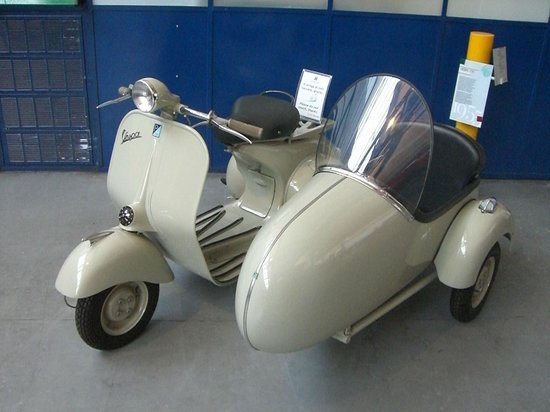 ปอนเตเดรา, อิตาลี: Pontedera museo Piaggio