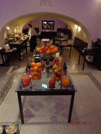 Sofitel Rome Villa Borghese: café da manhã