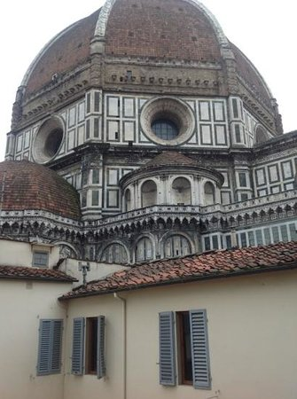 Hotel Duomo Firenze: view from family room