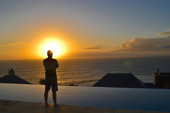 Compass House Boutique Hotel : Sunsets were out of this world!