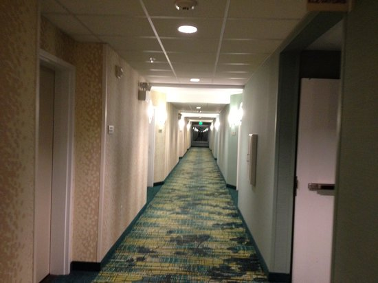 SpringHill Suites Provo: Very clean hotel.
