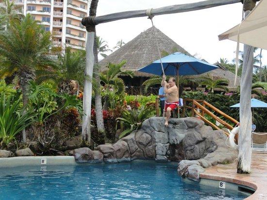 Grand Wailea - A Waldorf Astoria Resort: The pool swing