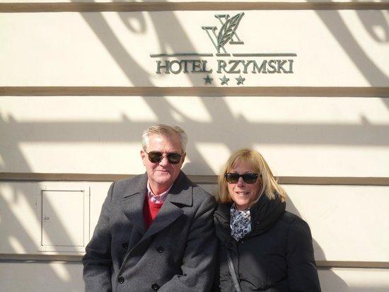 Rzymski Hotel: Great location, nice hotel