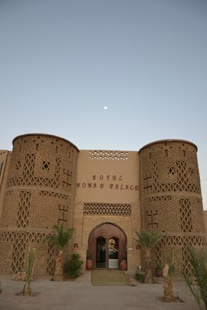Hotel Nomad Palace: A entrada....