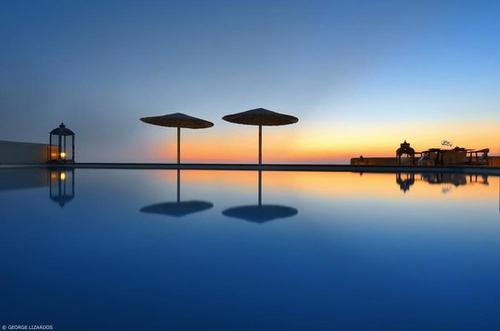 Gold Suites: Amazing sunset view