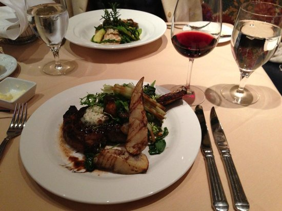 Char's at Tracy Mansion : Grilled Royal Rib Chop